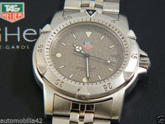 TAG Heuer 1500 Oversize 43mm Man Polished/ Brushed SS Granite dial 959.706G-20