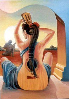 My splendid guitar