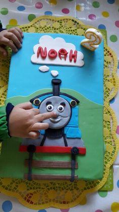 selbstgemachte Zaubertorte für Noah von Mama