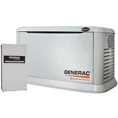 Generac Guardian 6551 ™ 22kW Aluminum Standby Generator System 200A Service Disconnect   AC Shedding