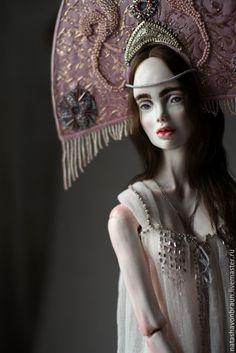 Art Doll | Купить Зимняя Ночь - серебряный, шарнирная кукла, бжд, bjd, кукла, скульптура, ночь, зима
