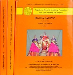 """""""Vishnu-Suktani (Part One) - presents the hymns ascribed to Vishnu in the Rgvedic Corpus. This volume includes also in the form of an appendix, a rare and important text, Rigvidhana, which is of invaluable help in understanding the Vedic hymns""""!  Read more: http://www.exoticindia.com/book/details/rgveda-darsana-vishnu-suktani-in-3-volumes-explaining-all-suktas-of-lord-vishnu-occuring-rgveda-NAC888/"""