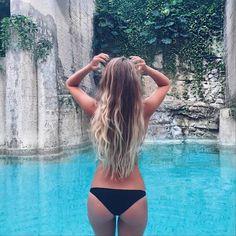 Imagen de summer, bikini, and blonde