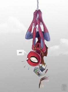Spiderman by Edouard Relou www.edouardrelou.eu