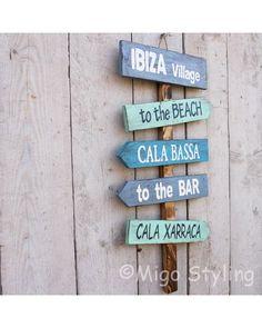Ibiza / Cala Bassa bord? Bestel online - MigoStyling Ibiza, Decor, Decoration, Decorating, Ibiza Town, Deco