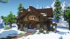 Minecraft Cabin, Casa Medieval Minecraft, Minecraft House Plans, Minecraft Mansion, Minecraft Cottage, Easy Minecraft Houses, Minecraft House Tutorials, Minecraft Castle, Minecraft House Designs