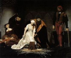 A primary source account of the executions of Lady Jane Grey and Lord Guildford Dudley on 12 February 1554.