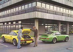 1974 Porsche 911 Carrera 2.7 & Porsche 911 Carrera RS 3.0