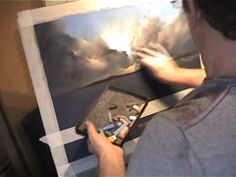 ▶ Pastel Demonstration by Les Darlow Morcambe moods.m2v - YouTube