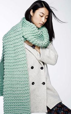Snow Day Scarf #anthrofave