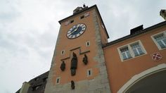 Clock Tower in Regensburg, Germany | Ashley Colburn Productions