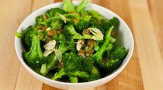 Broccoli with Golden Raisins and Garlic : Recipes : do it Delicious