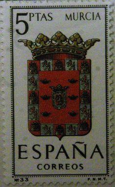 Sellos - Escudos Heráldicos - Murcia