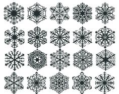 snowflake tattoos | snowflake tattoo designs | Tattoo Elements