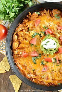 Thrive at Five Meal Plan- Week 9: Enchilada Pasta, Celery Root Bean Soup, Quesadillas, Asparagus Ravioli, Fried Chicken, Salami Rolls & Oatmeal Bars