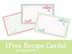 see jane scrapbook freebie recipe cards recipe cars family recipe book recipe