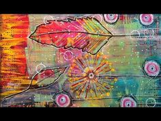 Mixed Media Tutorial | Intuitive Painting - YouTube