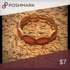 🌸Adjustable Bracelet🌸 💕NWOTs adjustable bracelet with shimmery pink jewels.💕 Jewelry Bracelets