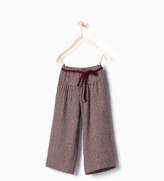 Wide trousers-View all-Leggings & Trousers-Girl-Kids | 4-14 years-KIDS | ZARA United States
