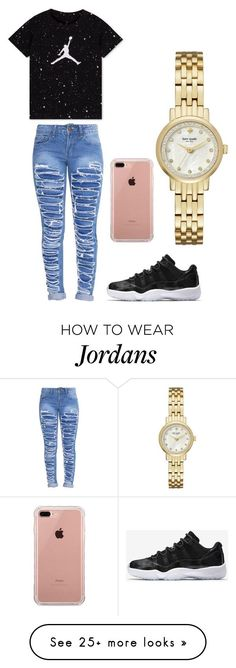 """""""Back to school collection"""" by iyanna0803 on Polyvore featuring NIKE, Belkin and Kate Spade"""