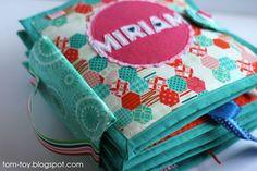 Quiet book for Miriam