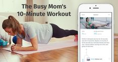 This 10-minute workout is becoming an absolute hit among young moms.