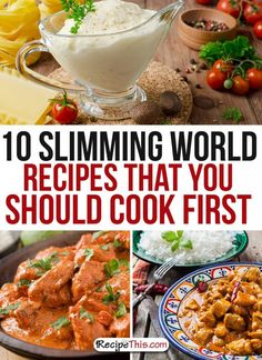 Slimming World Recipes | Top 10 Slimming World Recipes You Should Cook First from RecipeThis.com