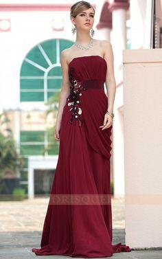 Solid Prom Dress