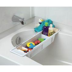diy bath toy storage organizing space pinterest badezimmer bad und baden. Black Bedroom Furniture Sets. Home Design Ideas