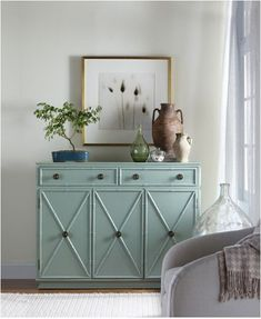You've decided to paint a piece of furniture. What color do you choose? Examples of neutrals and brighter choices.