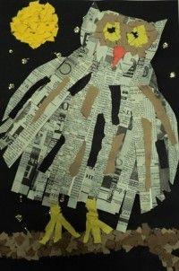 Artsonia Art Museum :: Artwork by Carissa116 Wow Said the Owl