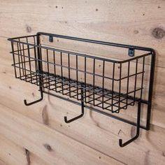 Easy-Up® Basket & Tack Rack