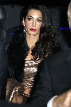 Amal Clooney's Make up and eyebrows... Just flawless!!!