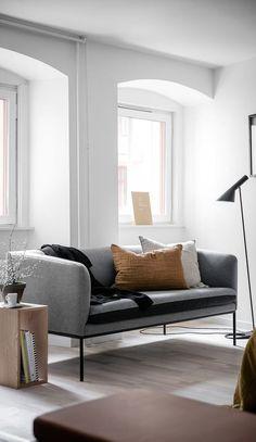 gray living room decor inspiration