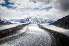Kaskawulsh Glacier, Yukon Territory, Canada | Photo by Kalen Emsley.