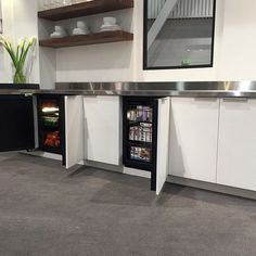 """""""#Regram @purcellmurray! Love the @ulinecorp under counter refrigeration. #KBIS2015"""""""