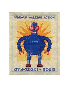 Boris Box Art Robot, love it