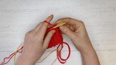Strikke sokker: Lær deg å strikke sokker på 1-2-3. Det er lett som en fjert! Knitting Videos, Drop Earrings, Hair Styles, Beauty, Reading, Books, Threading, Blouse, Hair Plait Styles