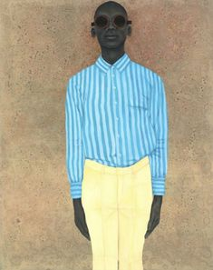 Find the latest shows, biography, and artworks for sale by Amy Sherald. Through her monumental portraits of African American subjects, Amy Sherald explores a… African American Museum, African American Artist, American Artists, African Art, Samba, Famous Black Artists, Amy Sherald, Obama Portrait, Kehinde Wiley
