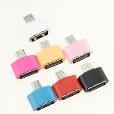 OTG Adapter Micro USB To USB 2.0 Converter for Android Galaxy S3 S4 S5 Tablet PC to Flash Mouse Keyboard
