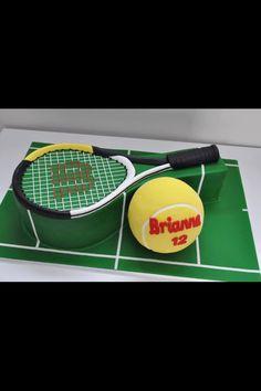 Tarta raqueta tenis