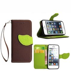 5S SE For iPhone 5S for 5 cases of color Flip Book Style Leather Watchband cover card slot and iPhone 5 6 plus Miami Fashion Cap //Price: $US $3.74 & FREE Shipping //     #samsung