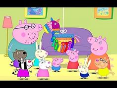 Peppa Pig English Episodes 2014 - 2 Hours New - YouTube