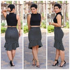DIY Skirt Inspired By Dolce & Gabbana + Pattern Review of Burda 6955 |Mimi G Style: DIY Fashion Sewing