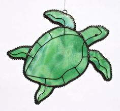 Stained+Glass+SEA+TURTLE+Suncatcher+by+stainedglasswhimsy+on+Etsy,+$26.00