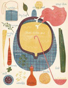Barbara Dziadosz classic chicken soup