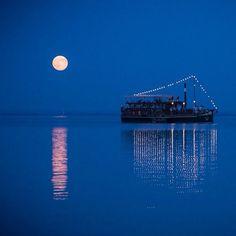 moonlight on Balaton -