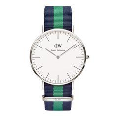 Đồng hồ Daniel Wellington nam Classic Warwick Silver 0205DW
