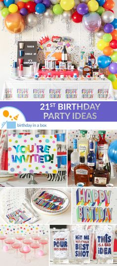 Cheers to your 21st Birthday! Our party planning tips will help you create a night to remember!