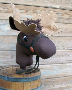 Stick Moose Toddler Size Ready to Ride MADE TO by RusticHorseShoe